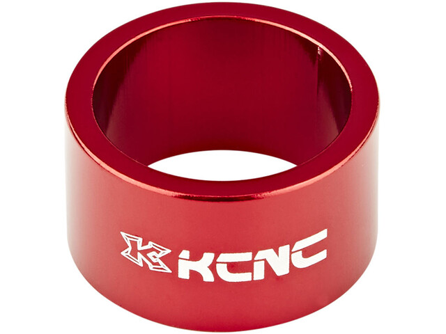 "KCNC Headset Spacer 1 1/8"" 20mm red"